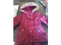 girls age 4-5 includes winter coat antrim