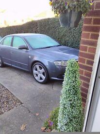 Audi a4 s line 2.0 cvt 2007/07 grey