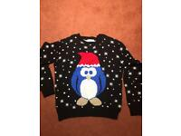 Christmas jumper. Age 10-11 years