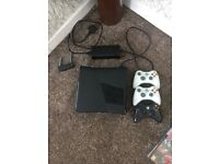 Xbox 360games condole,3 controllers and over 40 games. Incl Fifa, halo, injustice, Lego,WWE,PES.