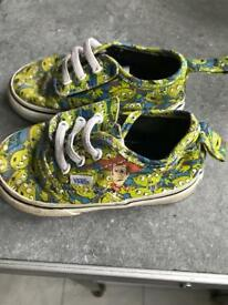 Toddlers vans toy story