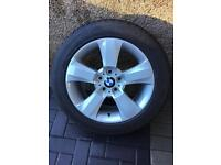 Genuine BMW 18' alloys with Bridgestone winter tyres