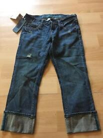 Brand New £90 Ted Baker Crop Jeans Size 2 10