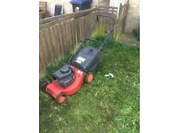 Champion self propelled mower