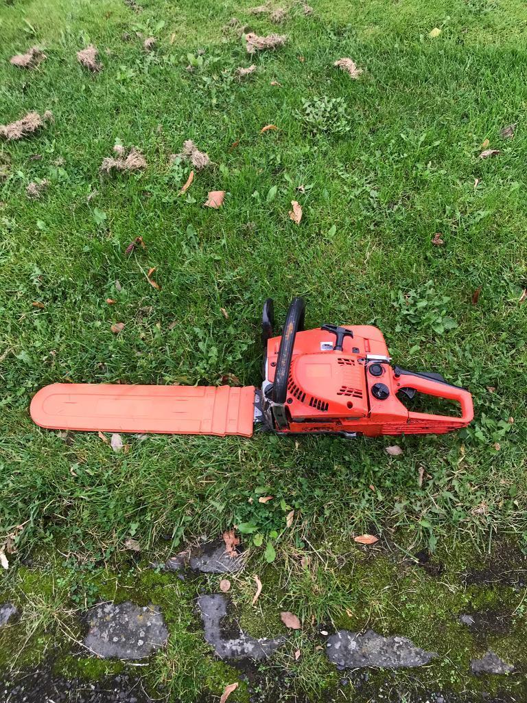 """Heavy duty chainsaw -18"""" blade -"""
