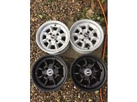 4 superlight mini rims wheels 12