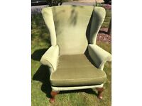 Classic Parker-Knoll armchair in good condition