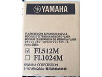 Yamaha flash memory; FL512M
