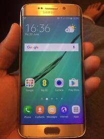 Samsung galaxy s6 edge gold 32gb unlocked