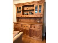 Large Contempary Pine Dresser for sale