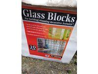 Glass blocks wave
