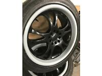 18 inch Alloy wheels 5x114 also 5x100 fitting