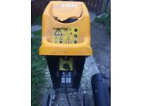 JCB branch shredder