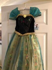 BNWT Frozen Anna dress age 11-12