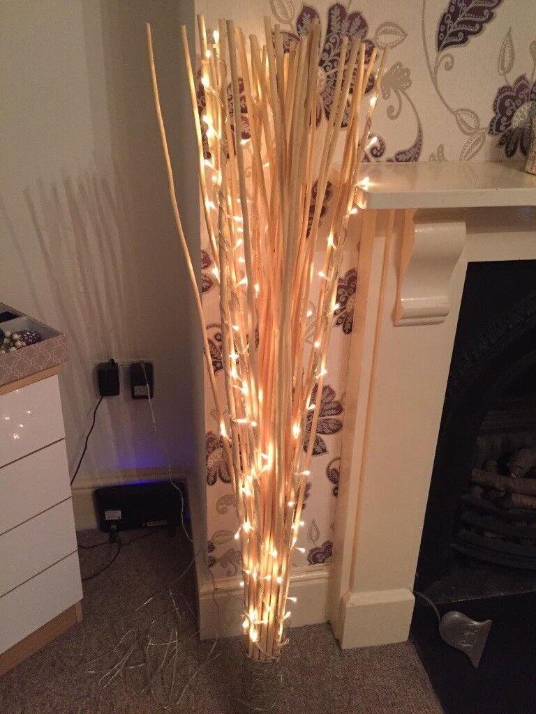 Decorative Reed Floor Lamp   in Putney, London   Gumtree