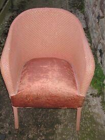 Lloyd Loom or Lloyd Loom Style Chair For Restoration