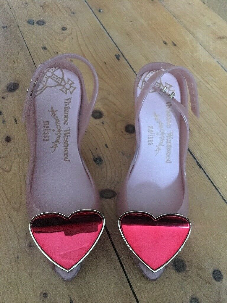 e735492bcae Vivienne Westwood Pink/Red Lychee Heart Lady Dragon Melissa Shoes UK Size 6  | in Toxteth, Merseyside | Gumtree