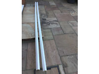 Plinth for Kitchen Cabinets by BA. White. Two at 3050mm long