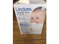 Lindam universal steam steriliser for bottles and other feeding accessories