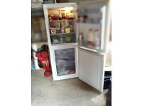 NICE GOOD WORKING FRIDGE / FREEZER CAN DELIVER RING 07760445146 .