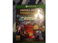 Mine craft story mode episodes 1-8 Xbox one