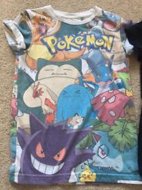Pokemon t-shirt age 6