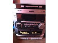 Mini hifi system stereo