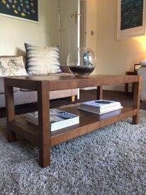 Laura Ashley oak wood Brompton living room furniture set for sale