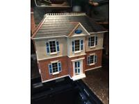 Massive dolls house fully furnished