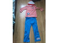 Costume Where's Wally? Age 7-8