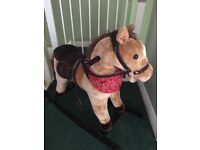 Bonito Bebe Rocking Horse with sound effects
