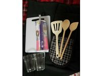 Various item kitchen bundle- most items are brand new