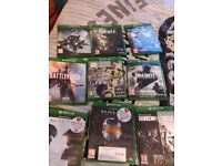 Xbox1 , 9games and 2 controllers. Account available with games. Not included in price