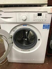 Below washing machine unused