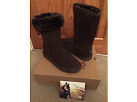 New Classic Tall Ugg Boots Chocolate UK Size 5.5