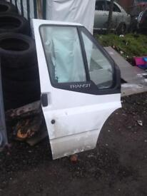 Ford transit mark7 drivers side door with elc