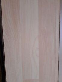 Used Laminate flooring - 2 different types