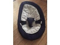 Used NUNA Leaf Baby Bouncer Rocker & Spare Brand New Cover