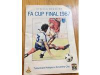 Tottenham Hotspur v Coventry City 1987