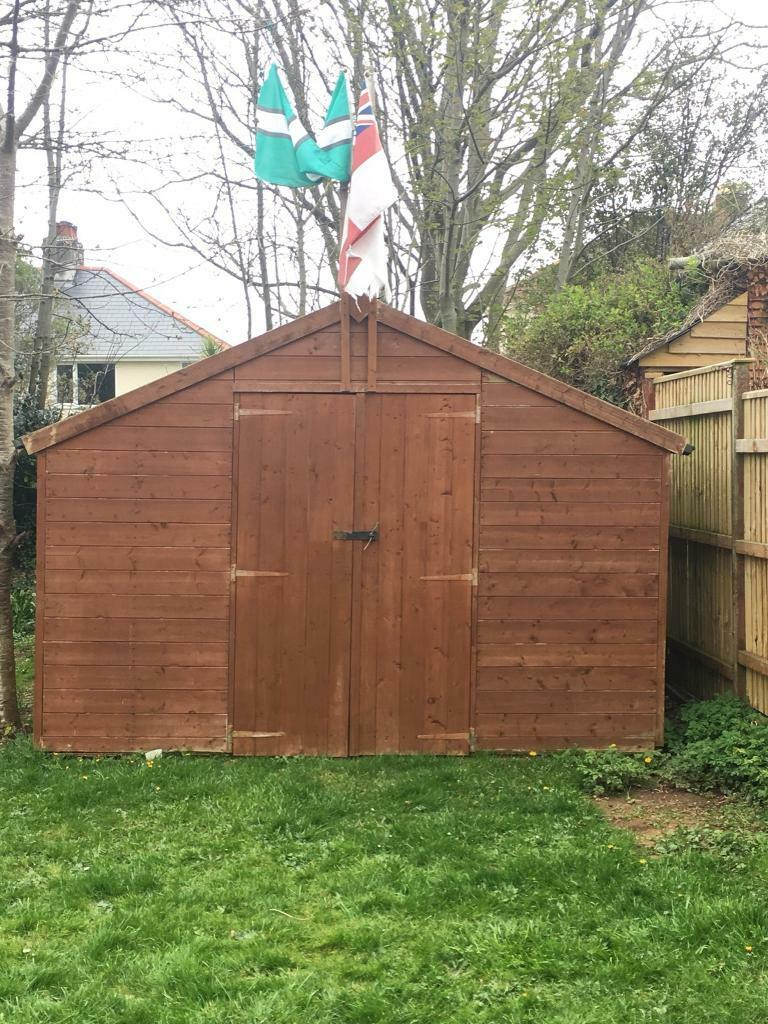 Large garden shed | in Plymouth, Devon | Gumtree