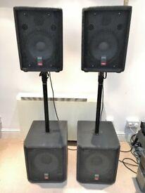 Proel Smart Series PA Passive Speakers - Tops and Subs (Pair)