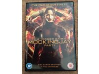 DVD The hunger games: MOCKINGJAY Part 1