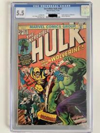 Incredible Hulk 181 CGC 5.5