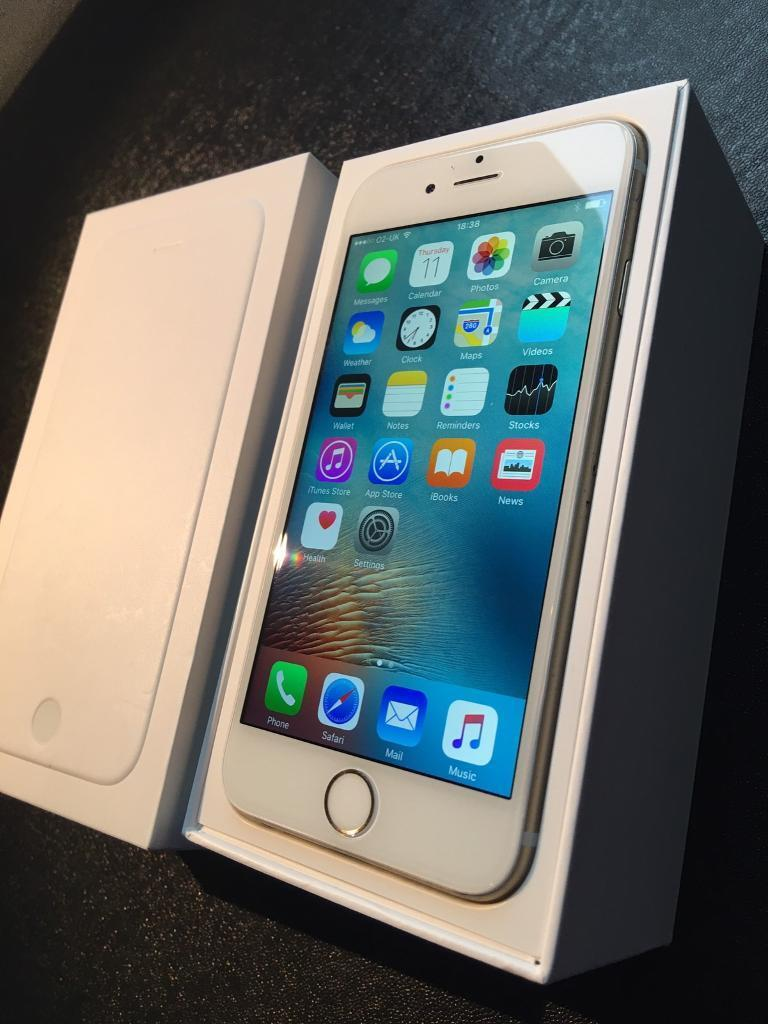 IPHONE 6 gold 16gb full accessories immaculate condition UNLOCKED Chris 07462496929in Bonnyrigg, MidlothianGumtree - iPhone 6