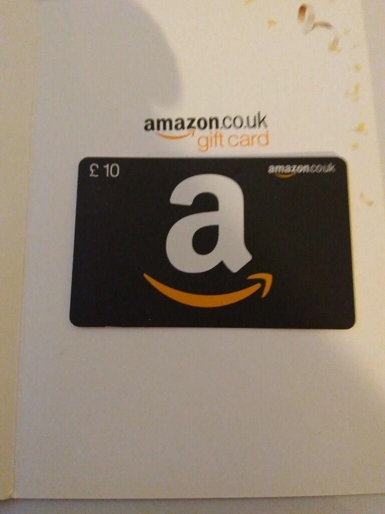 £10 Amazon gift voucher