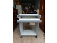 Computer Desk with Keyboard Drawer in Good Condition