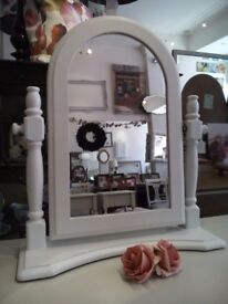 Painted table Mirror.