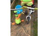Balance bike and trike