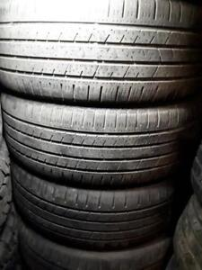 235/55/19 used set of four Continental tires
