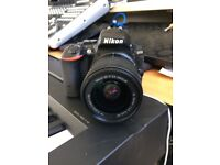 NIKON D5500 with KIT LENSE, CASE AND SCREEN PROTECTOR